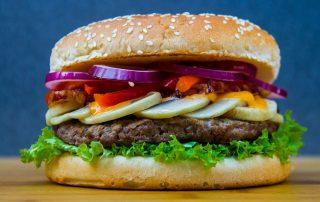 Burger als Fastfood