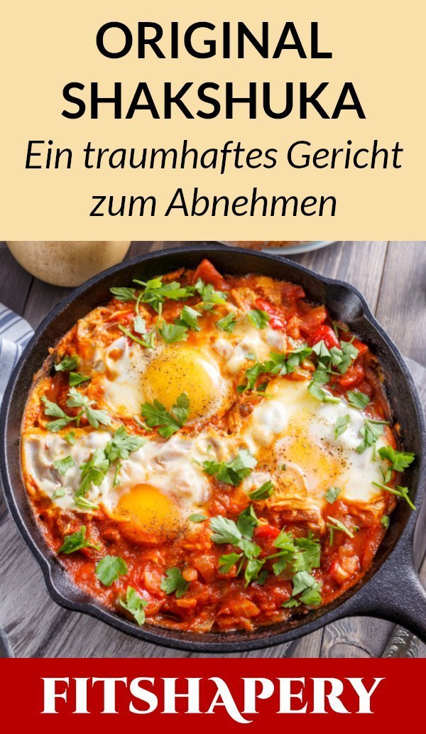 Shakshuka in der Low Carb Variante