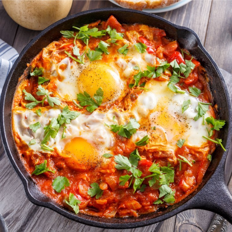 Original Low Carb Shakshuka Rezept