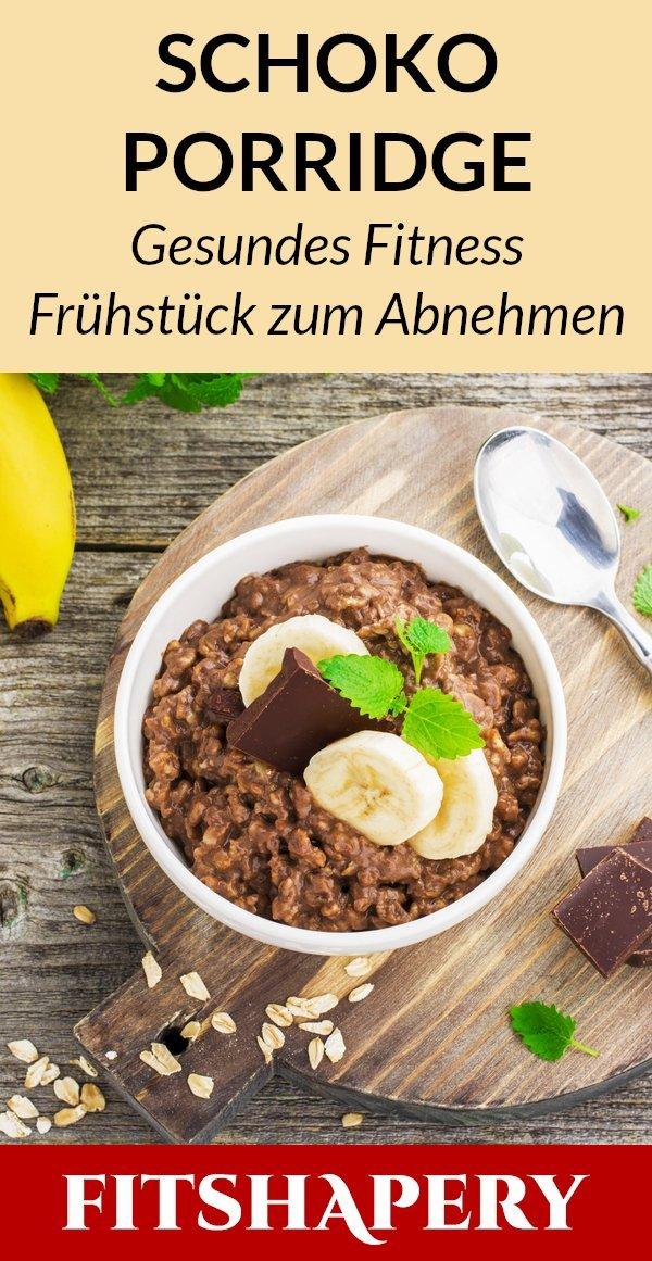 Schokoladen Porridge Rezept