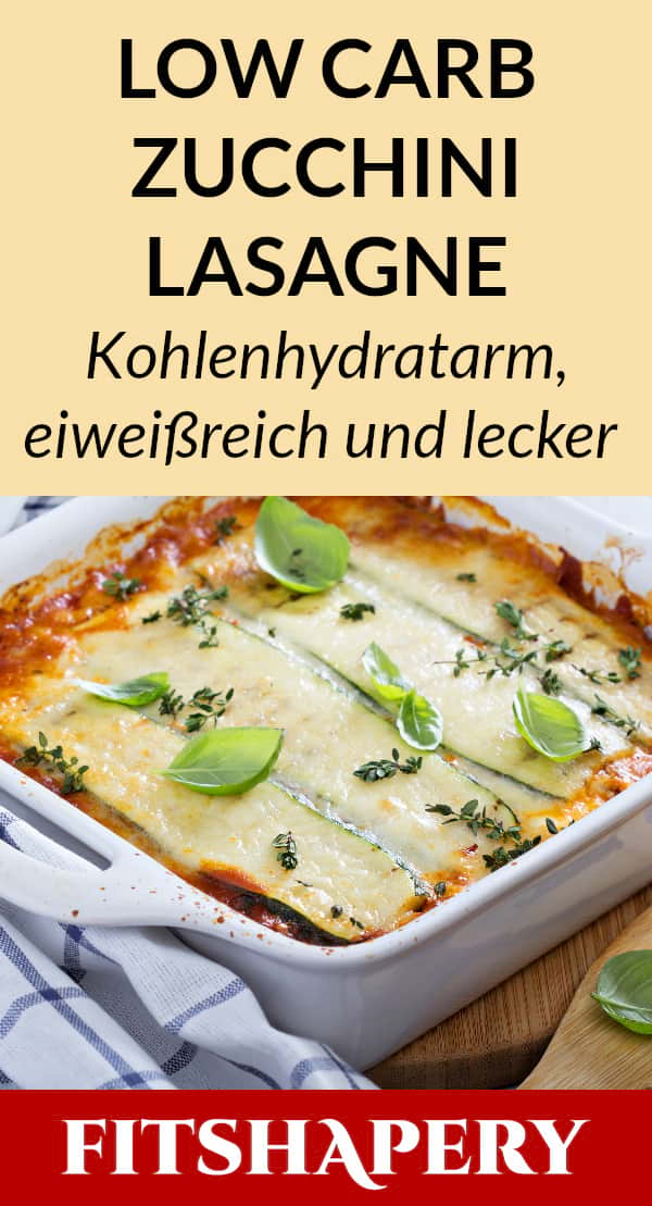 Lasange nach dem Backen