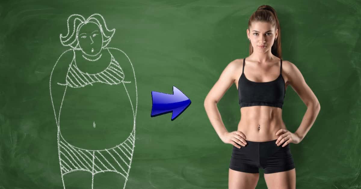 Schnell abnehmen durch Ernährung und Training
