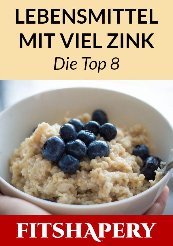 Zink Lebensmittel für gesunde Ernährung