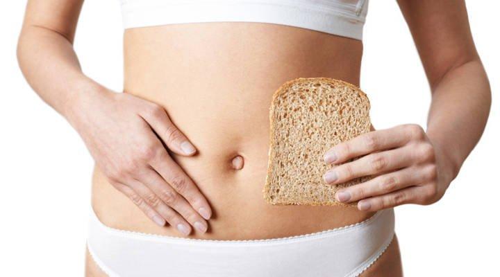 Frau mit einer Glutenunverträglichkeit