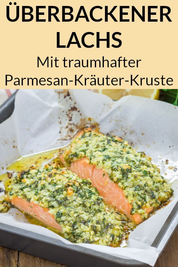 Überbackener Low Carb Lachs
