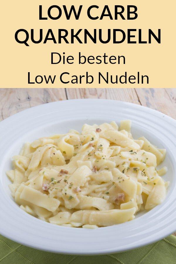 Die besten Low Carb Nudeln