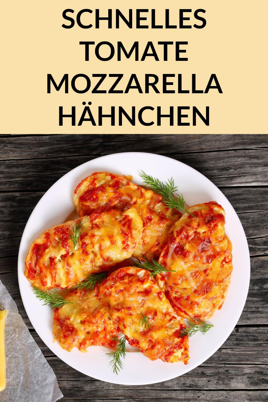 Tomate Mozzarella Hähnchen Low Carb