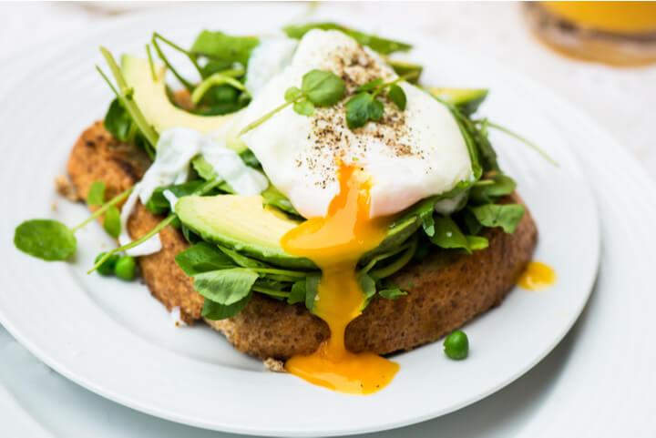 Diät-Frühstück mit Avocado (1)