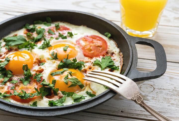 Eier als Frühstück beim Abnehmen (1)