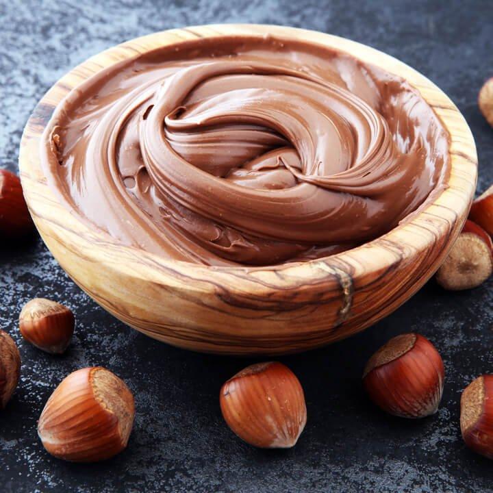 Gesunde Nutella als Brotaufstrich
