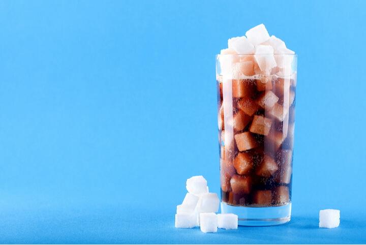 Gezuckerte Getränke als schlechtes Lebensmittel zum Abnehmen