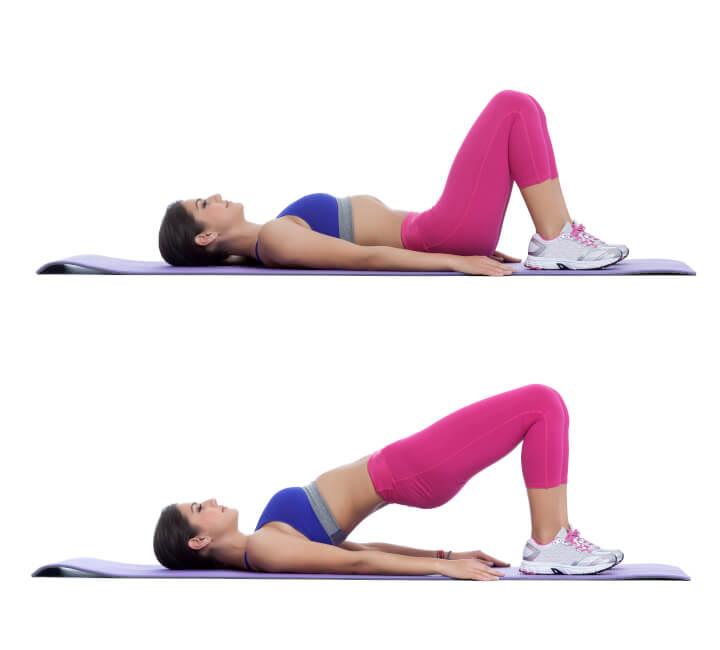 Hip Thrusts Übung