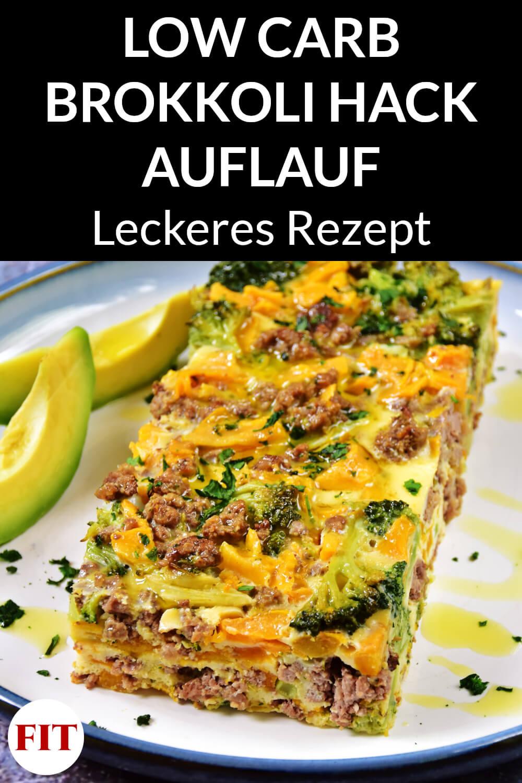 Low Carb Brokkoli Hackfleisch Auflauf Rezept