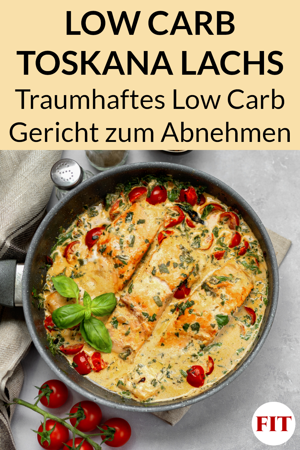 Low Carb Toskana Lachs