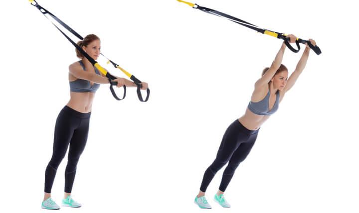 Überzüge als Schlingentrainer Übung