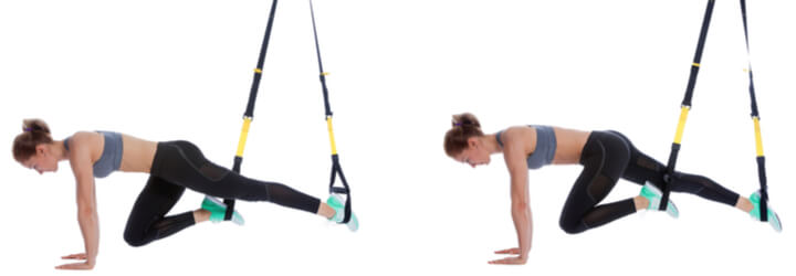 Mountain Climbers im Sling Trainer Workout