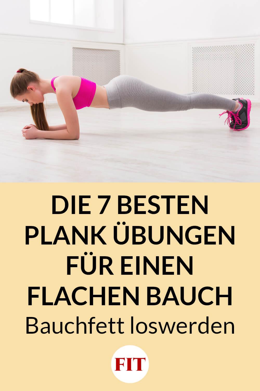Plank Übungen gegen Bauchfett