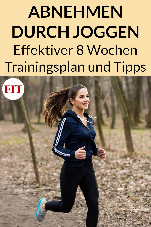 Trainingsplan fürs Joggen