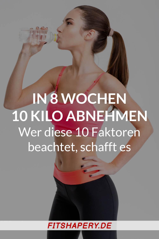 Wie man 10 kg abnehmen kann