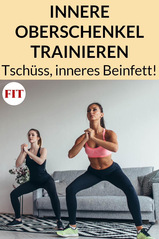 Workout für die inneren Oberschenkel